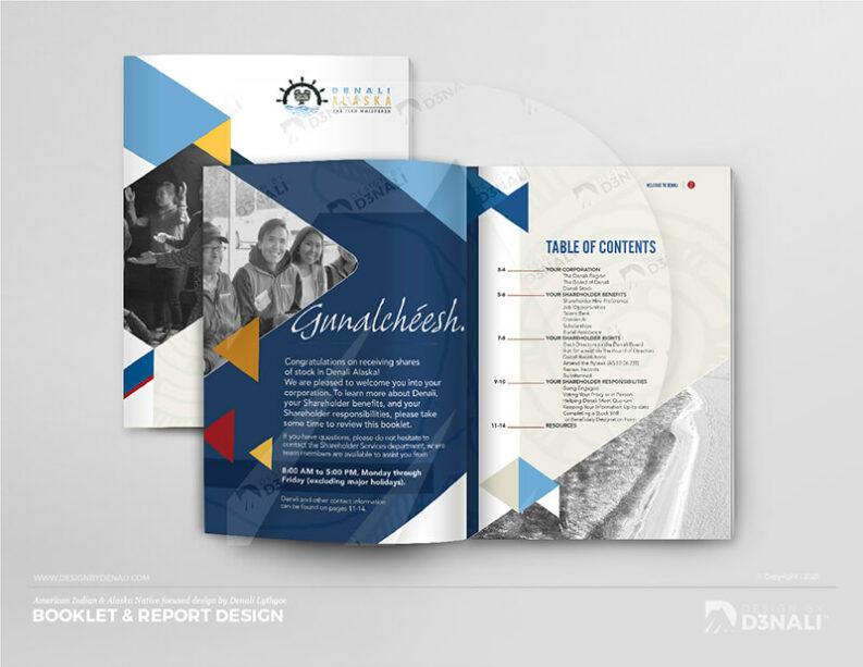 D3NALI - Design by Denali - Alaska Native Brochure