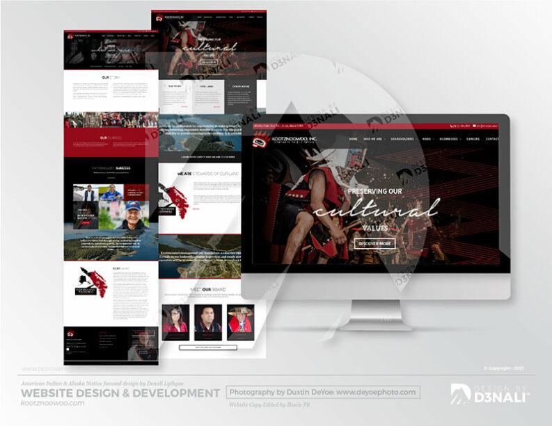 D3NALI - Design by Denali - Angoon Website Design Alaska Native