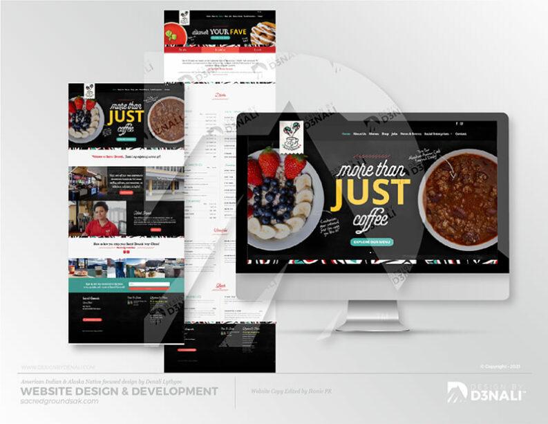 D3NALI - Design by Denali - Juneau Coffee Shop Design