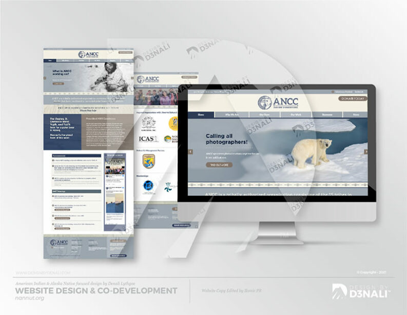 D3NALI - Design by Denali - Nome AK Graphic Design WEb Design